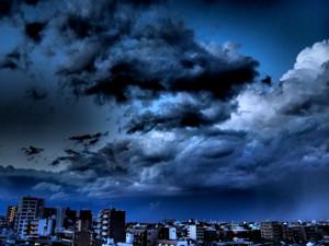 2014年5月22日の東京の空