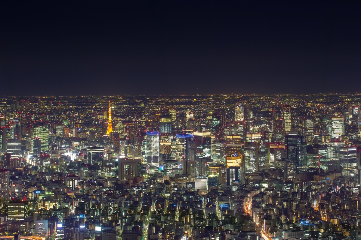 Tokyo Megalopolis from Tokyo Skytree