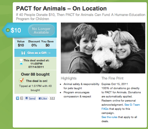 Pactforanimals