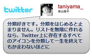 谷山浩子 twitter list