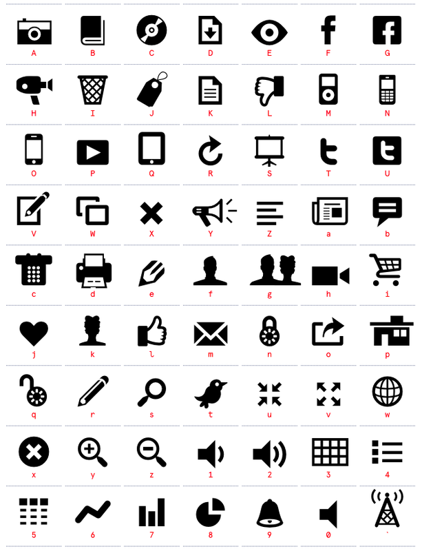 Modernpictograms