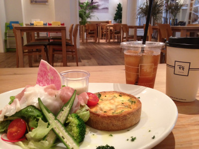 Ron Herman Cafeでの朝食